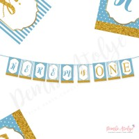 Baby Shower Banner (Mavi)